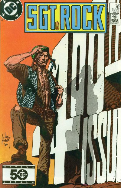 Cover for Sgt. Rock (DC, 1977 series) #400 [Direct]