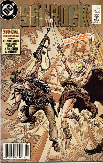 Cover for Sgt. Rock Special (DC, 1988 series) #1 [Direct Sales]