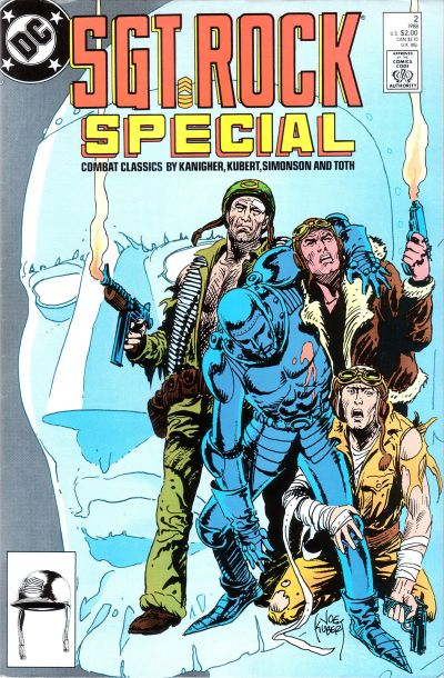 Cover for Sgt. Rock Special (DC, 1988 series) #2