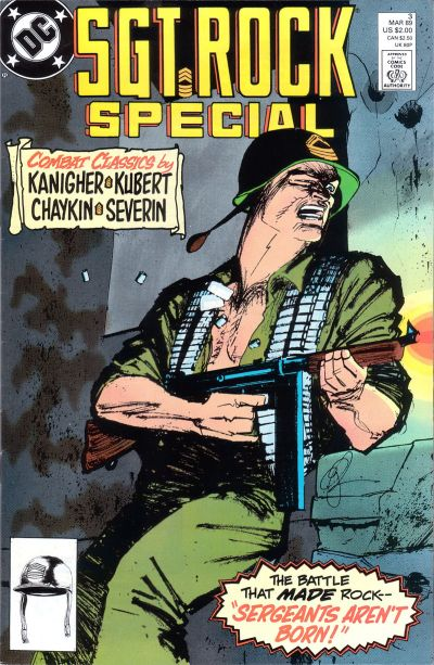 Cover for Sgt. Rock Special (DC, 1988 series) #3