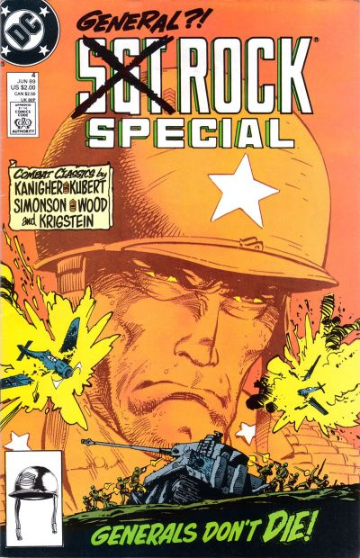 Cover for Sgt. Rock Special (DC, 1988 series) #4