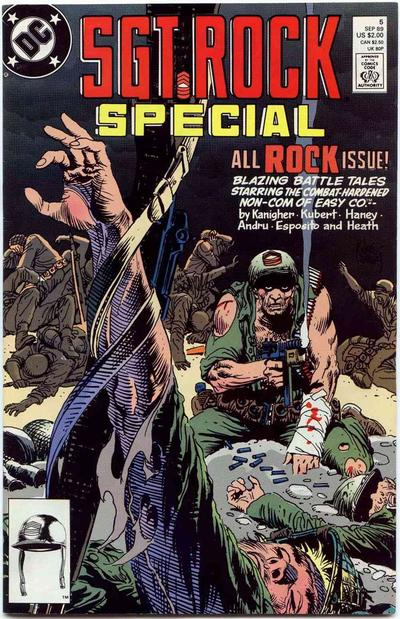 Cover for Sgt. Rock Special (DC, 1988 series) #5