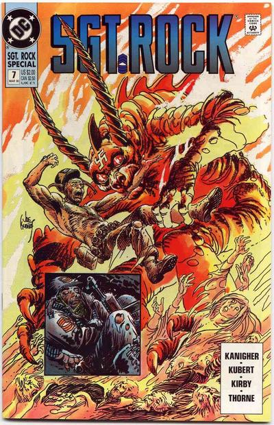 Cover for Sgt. Rock Special (DC, 1988 series) #7