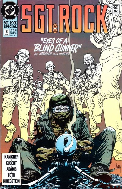 Cover for Sgt. Rock Special (DC, 1988 series) #8 [Direct]