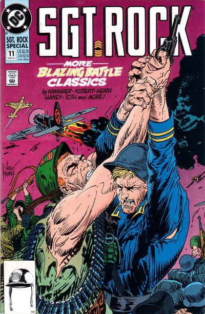 Cover for Sgt. Rock Special (DC, 1988 series) #11