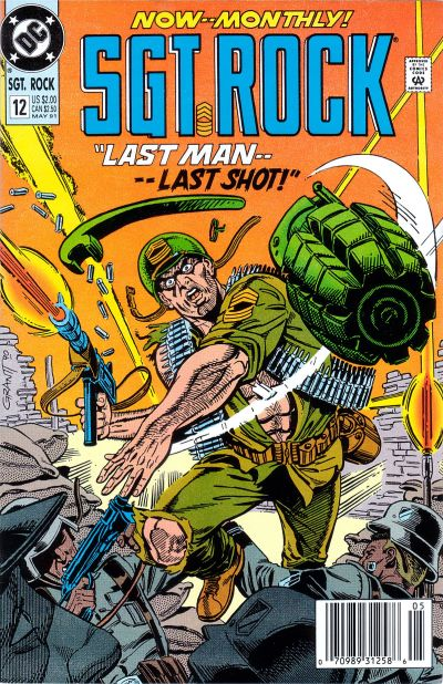 Cover for Sgt. Rock Special (DC, 1988 series) #12