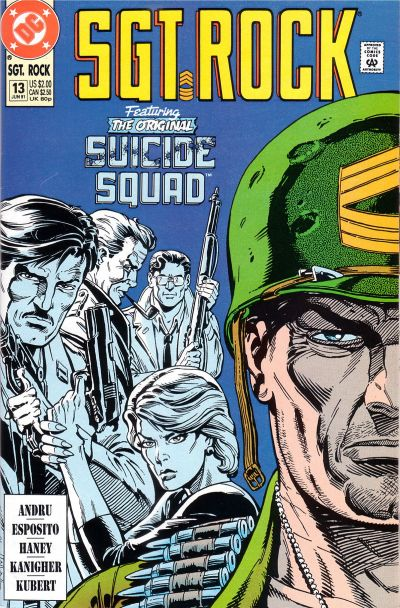 Cover for Sgt. Rock Special (DC, 1988 series) #13