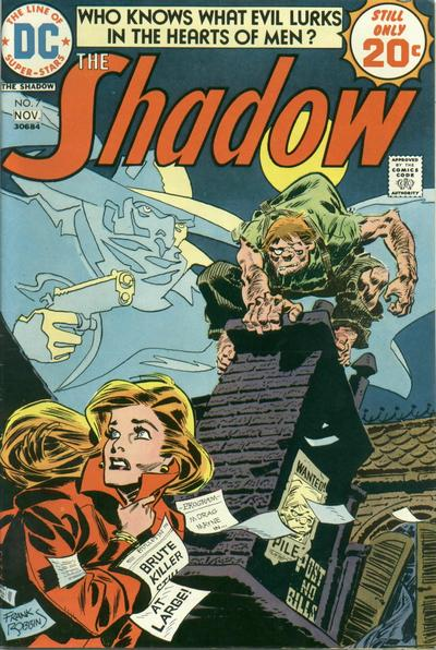 Cover for The Shadow (DC, 1973 series) #7