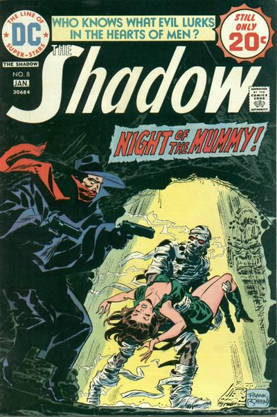 Cover for The Shadow (DC, 1973 series) #8