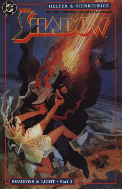 Cover for The Shadow (DC, 1987 series) #2
