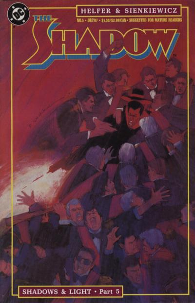 Cover for The Shadow (DC, 1987 series) #5