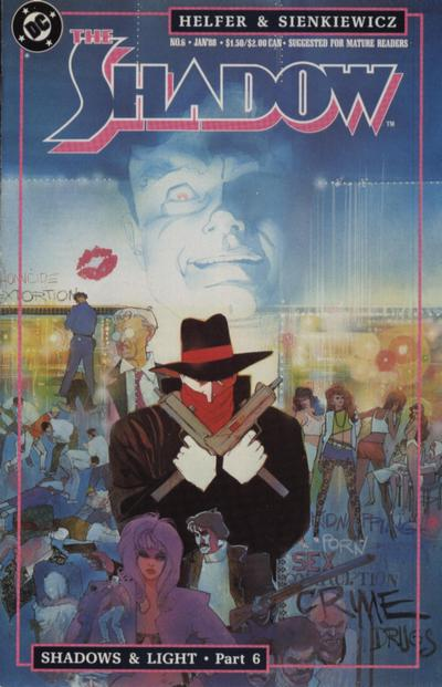 Cover for The Shadow (DC, 1987 series) #6