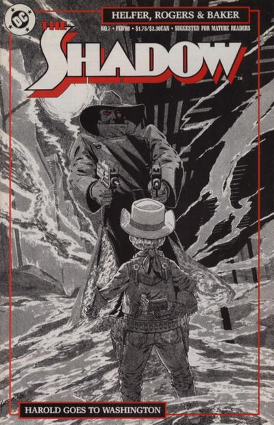 Cover for The Shadow (DC, 1987 series) #7