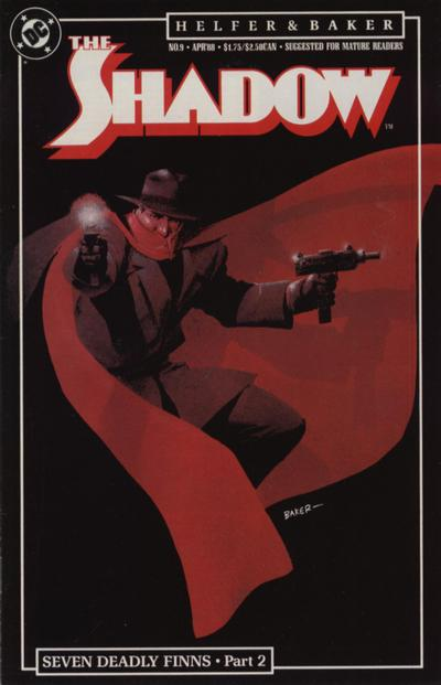 Cover for The Shadow (DC, 1987 series) #9