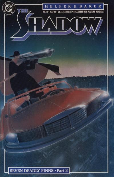 Cover for The Shadow (DC, 1987 series) #10