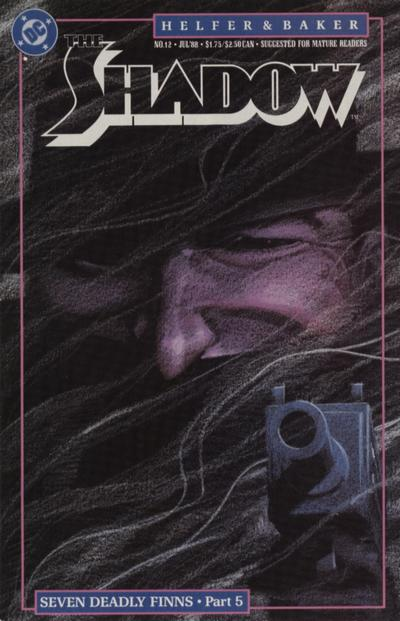 Cover for The Shadow (DC, 1987 series) #12