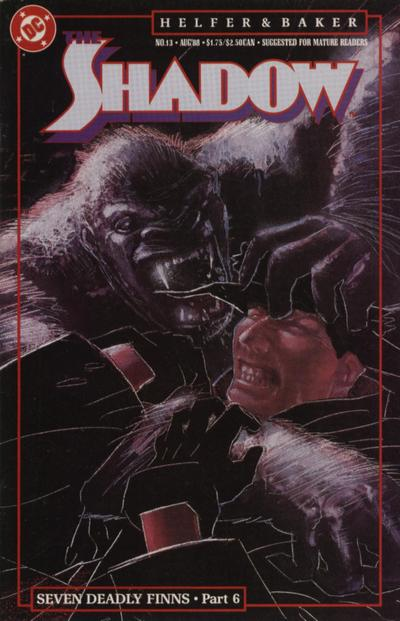 Cover for The Shadow (DC, 1987 series) #13