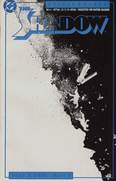 Cover for The Shadow (DC, 1987 series) #15