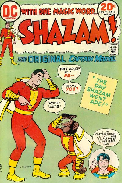 Cover for Shazam! (DC, 1973 series) #9