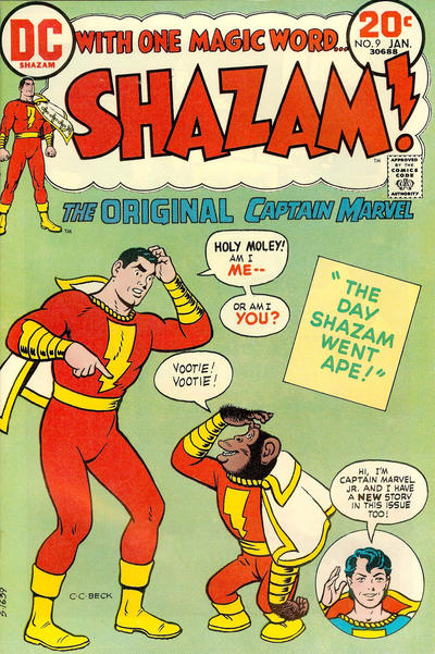 Cover for Shazam! (DC, 1973 series) #9