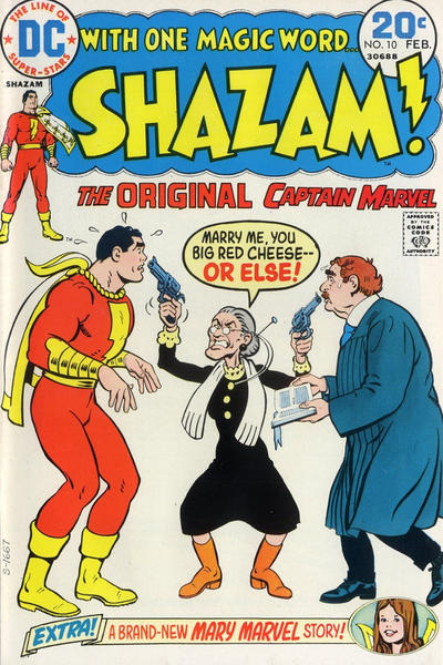 Cover for Shazam! (DC, 1973 series) #10
