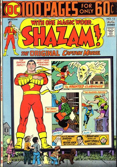 Cover for Shazam! (DC, 1973 series) #13