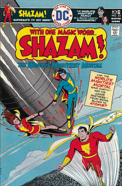 Cover for Shazam! (DC, 1973 series) #23