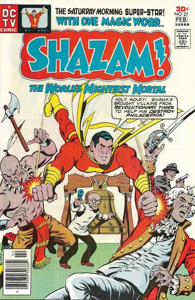 Cover for Shazam! (DC, 1973 series) #27