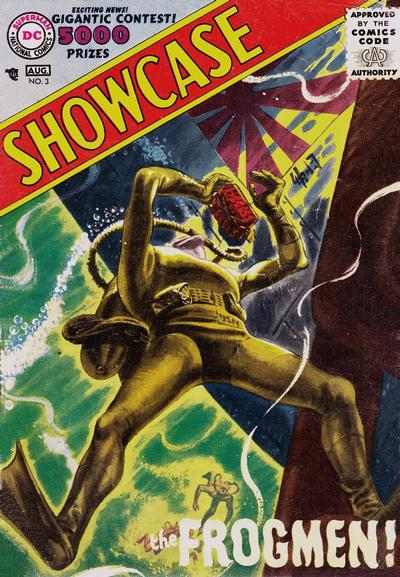 Cover for Showcase (DC, 1956 series) #3