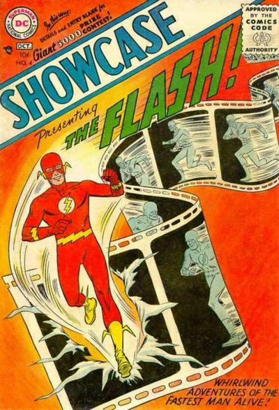 Cover for Showcase (DC, 1956 series) #4