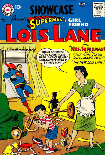 Cover for Showcase (DC, 1956 series) #9