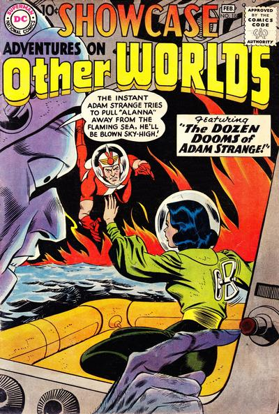 Cover for Showcase (DC, 1956 series) #18