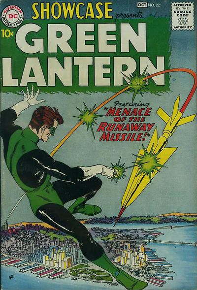 Cover for Showcase (DC, 1956 series) #22