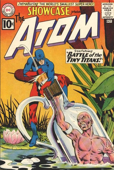 Cover for Showcase (DC, 1956 series) #34