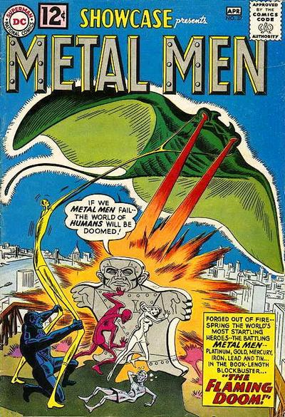 Cover for Showcase (DC, 1956 series) #37