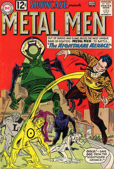 Cover for Showcase (DC, 1956 series) #38