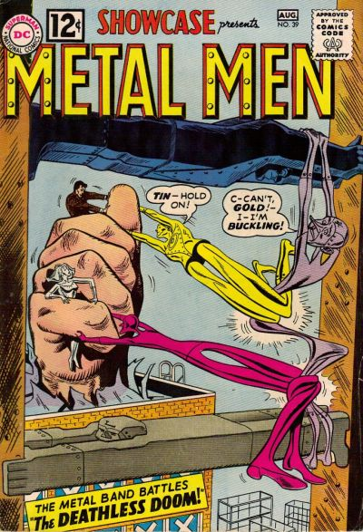 Cover for Showcase (DC, 1956 series) #39