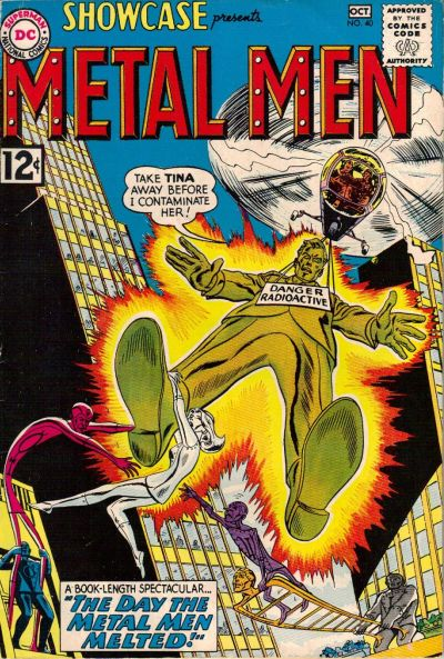 Cover for Showcase (DC, 1956 series) #40