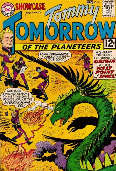 Cover for Showcase (DC, 1956 series) #41
