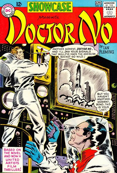 Cover for Showcase (DC, 1956 series) #43
