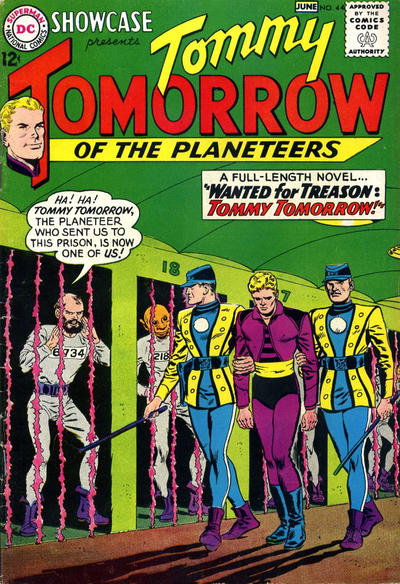 Cover for Showcase (DC, 1956 series) #44