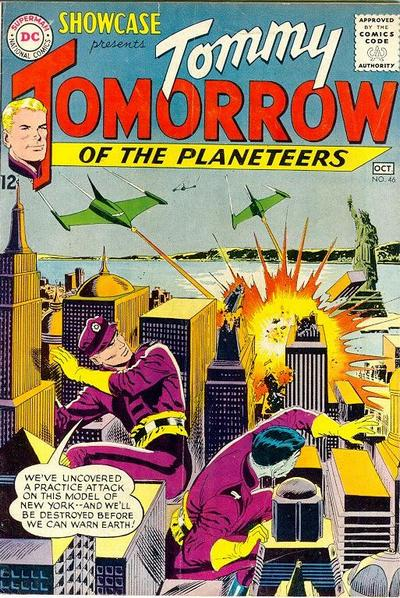 Cover for Showcase (DC, 1956 series) #46
