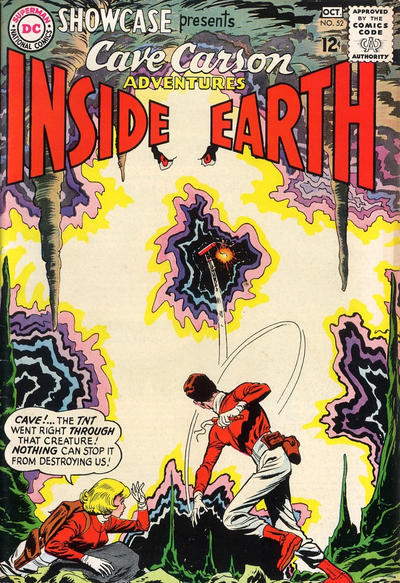 Cover for Showcase (DC, 1956 series) #52