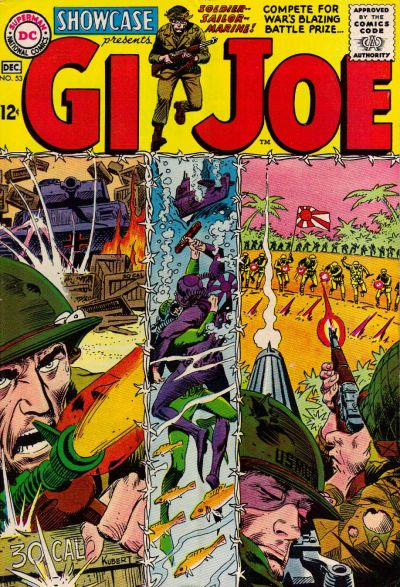 Cover for Showcase (DC, 1956 series) #53