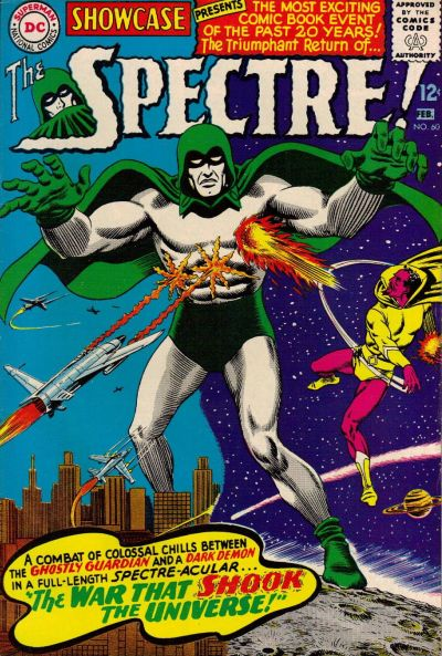 Cover for Showcase (DC, 1956 series) #60