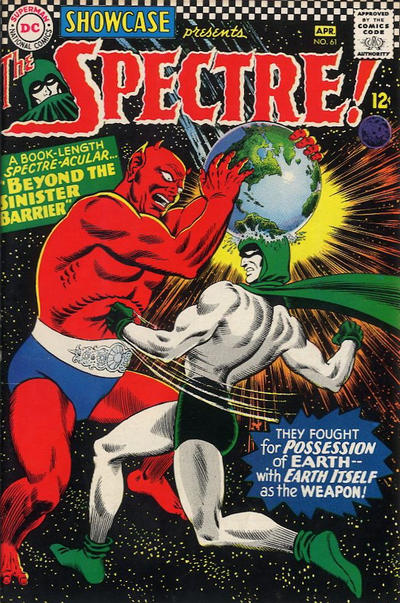 Cover for Showcase (DC, 1956 series) #61
