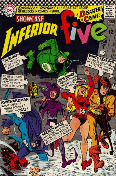 Cover for Showcase (DC, 1956 series) #62