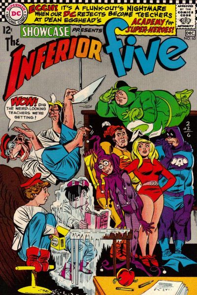 Cover for Showcase (DC, 1956 series) #65
