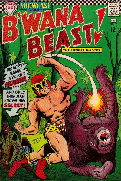 Cover for Showcase (DC, 1956 series) #66