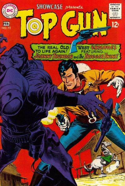 Cover for Showcase (DC, 1956 series) #72